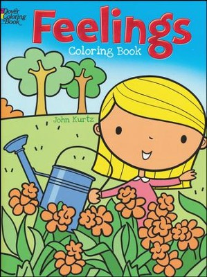 feelings coloring book by john kurtz - Feelings Coloring Book
