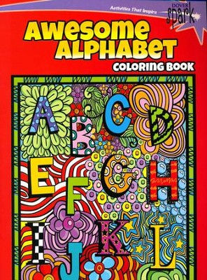 Awesome Alphabets Coloring Book  -     By: Susan Shaw-Russell