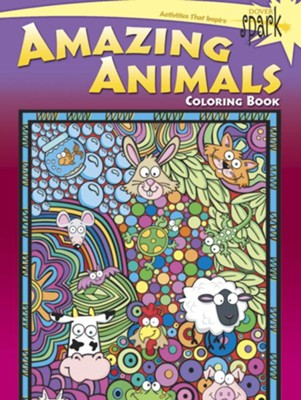 Amazing Animals Coloring Book  -     By: Susan Shaw-Russell