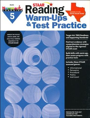 STAAR Reading Warm-Ups & Test Practice Grade 5  -
