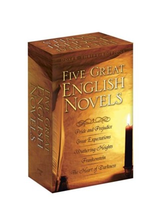 Five Great English Novels Boxed Set  -     By: Editors