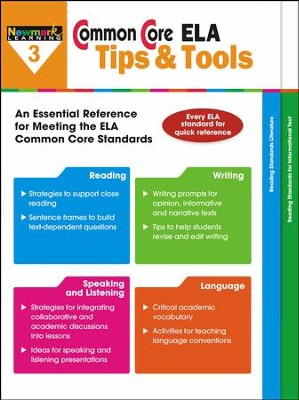Common Core ELA Tips & Tools Grade 3  -