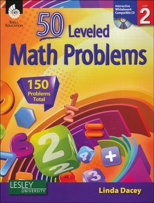 50 Leveled Problems for the Mathematics Classroom Level 2  -     By: Linda Dacey