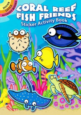 Coral Reef Fish Friends Sticker Activity Book  -     By: Susan Shaw-Russell