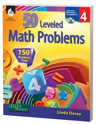 50 Leveled Problems for the Mathematics Classroom Level 4  -     By: Linda Dacey