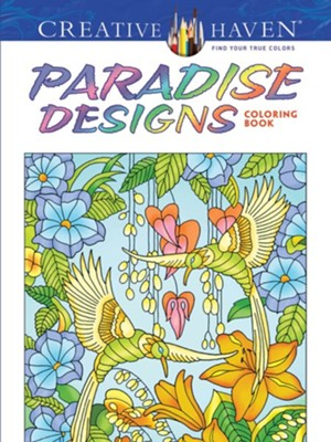 Paradise Designs Adult Coloring Book  -     By: Ted Menten