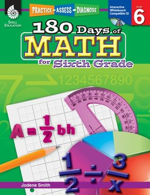 Practice, Assess, Diagnose: 180 Days of Math for Sixth Grade  -     By: Jodene Smith