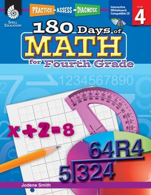 Practice, Assess, Diagnose: 180 Days of Math for Fourth Grade  -     By: Jodene Smith