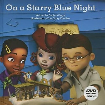 On a Starry Blue Night--Book and DVD   -     By: Daphna Lee Flegal