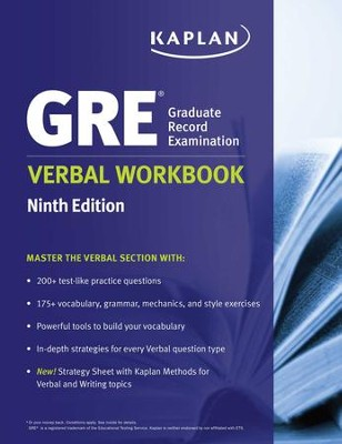 GRE Verbal Workbook - eBook  -     By: Kaplan