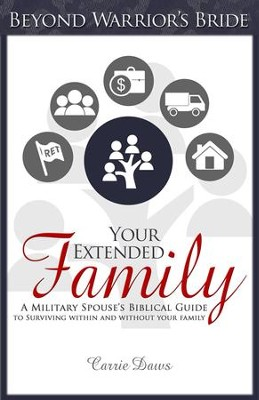Your Extended Family: A Military Spouses Biblical Guide to Surviving Within and Without Your Family - eBook  -     By: Carrie Daws