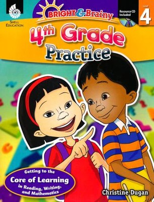 Bright & Brainy: 4th Grade Practice  -     By: Christine Dugan