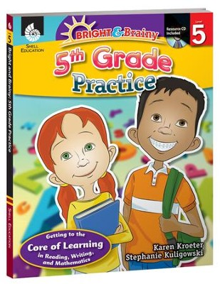 Bright & Brainy: 5th Grade Practice  -     By: Stephanie Kuligowski, Karen Kroeter