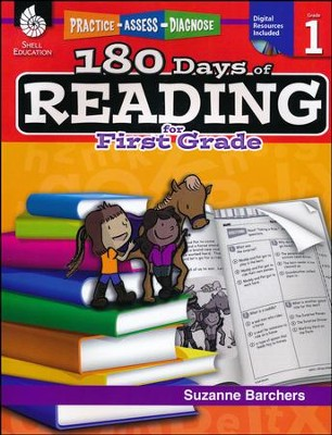 Practice, Assess, Diagnose: 180 Days of Reading for First Grade    -     By: Suzanne Barchers