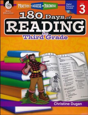 Practice, Assess, Diagnose: 180 Days of Reading for Third Grade   -     By: Christine Dugan