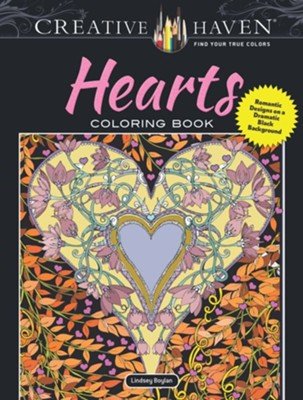 Hearts Coloring Book  -     By: Lindsey Boylan