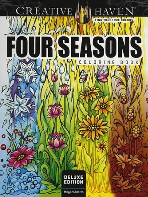 Four Seasons Coloring Book  -     By: Miryam Adatto