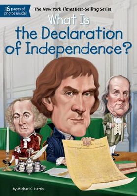 What Is the Declaration of Independence? - eBook  -     By: Michael Harris     Illustrated By: Jerry Hoare, Kevin McVeigh
