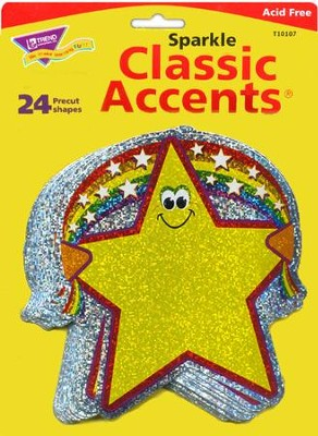 Rainbow Star Classic Accents  -