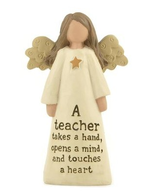 A Teacher Takes A Hand, Angel Figure  -