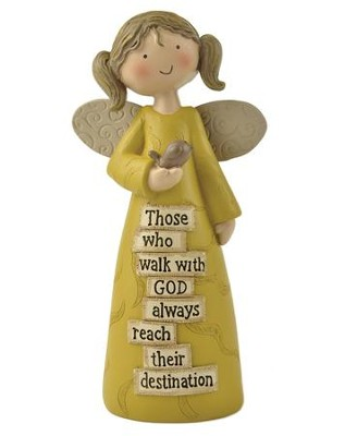 Those Who Walk With God Angel Figure  -
