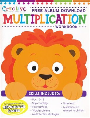 Multiplication Workbook with Album Download   -