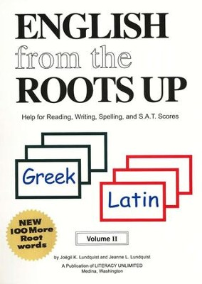 English from the Roots Up, Volume 2   -     By: Joegil Lundquist, Jeanne L. Lundquist