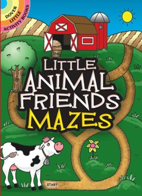 Little Animal Friends Mazes  -     By: Fran Newman-D'Amico