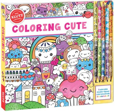 Coloring Cute  -     By: Editors of Klutz &  Scholastic