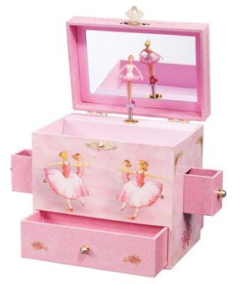 Ballerina Musical Jewelry Box  -