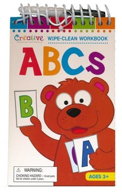 ABCs Wipe-Clean Workbook with Marker   -