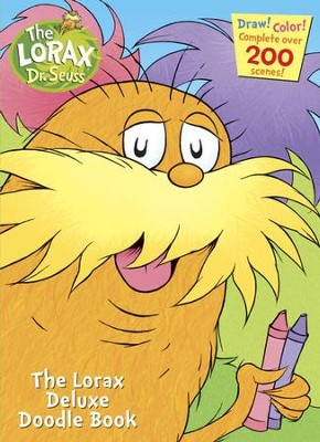 The Lorax Deluxe Doodle Book  -     By: Golden Books