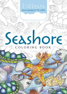 BLISS Seashore Coloring Book  -     By: Jessica Mazurkiewicz