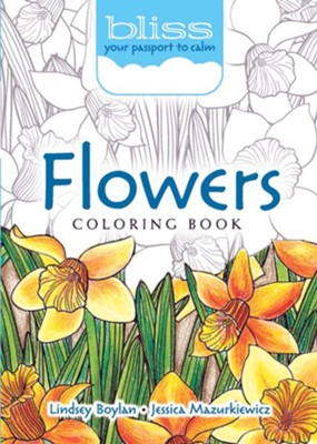 BLISS Flowers Coloring Book  -     By: Lindsey Boylan