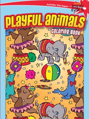 Playful Animals Coloring Book  -     By: Victoria Maderna