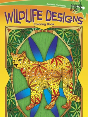 Wildlife Designs Coloring Book  -     By: Kelly Montgomery