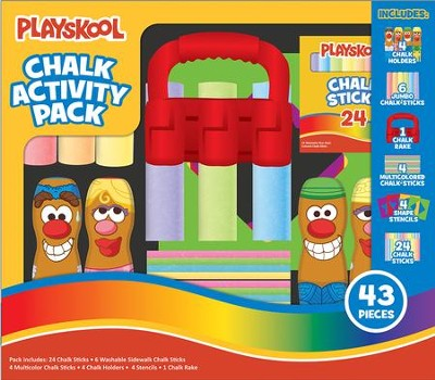 Playskool Chalk Activity Pack  -