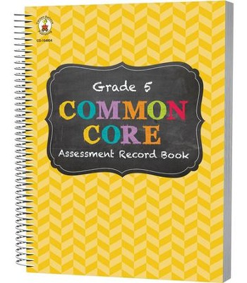 Common Core Assessment Record Book, Grade 5  -