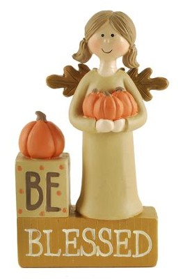 Be Blessed Blocks, Angel Figure  -     By: Suzi Skoglund