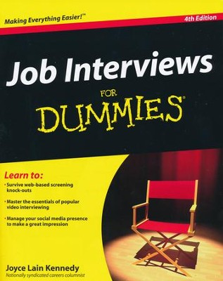 Job Interviews For Dummies  -     By: Joyce Lain Kennedy
