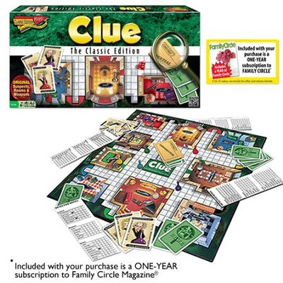 Clue Classic Edition   -