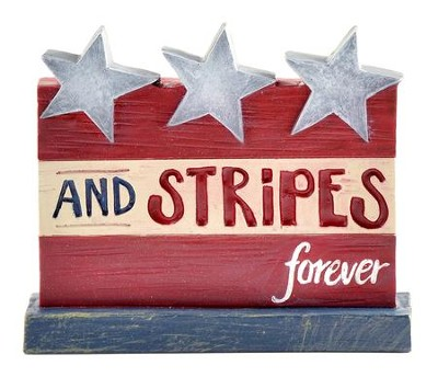 Stars and Stripes Forever Figurine  -     By: Barbara Lloyd