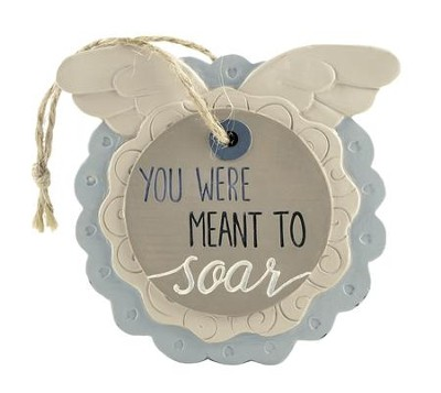 You Were Meant to Soar Easel Plaque  -     By: Barbara Lloyd