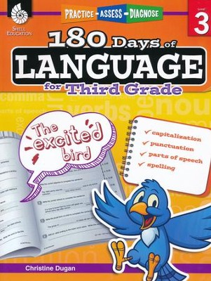 180 Days of Language for Third Grade (Level 3)   -     By: Christine Dugan