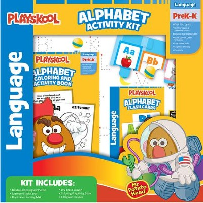 Playskool Alphabet Activity Kit  -