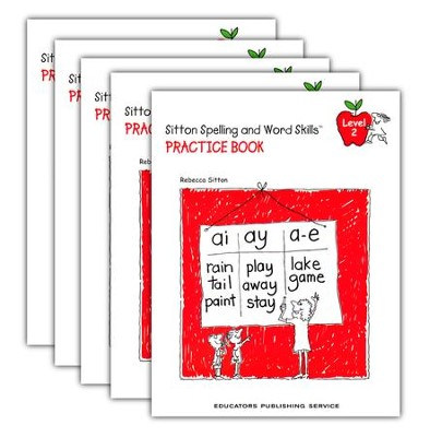 Sitton Grade 2 Practice Book 5-Pack  -