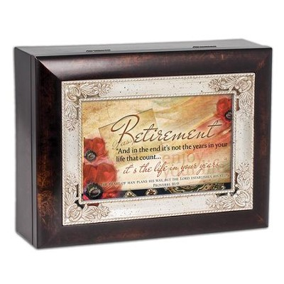 Italianate Music Box, Retirement, Proverbs 16:9  -