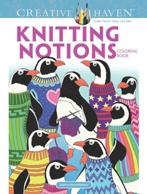Knitting Notions Coloring Book  -     By: Jessica Mazurkiewicz