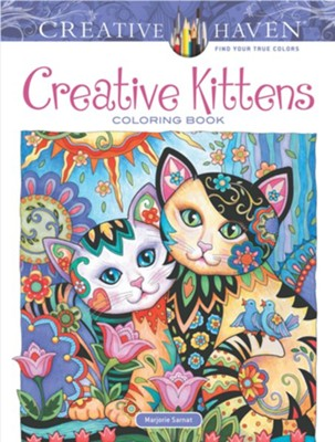 Creative Kittens Coloring Book  -     By: Marjorie Sarnat