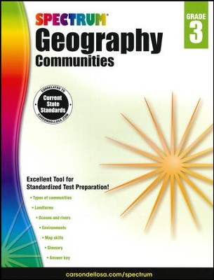 Spectrum Geography, Grade 3 (2015 Edition)  -